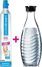 SodaStream Wassersprudler, (Set, 2 tlg.),