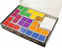 SODIAL Baby Nacht Licht Diy Tetris Puzzle Lichter
