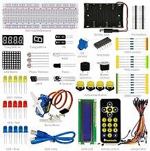 SODIAL Basic 1602LCD Starter Kit fuer Arduino LED Buzzer Widerstand Jumper PDF