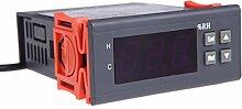 SODIAL(R) 10A 12V Mini Digital Regulierung der Luftfeuchtigkeit Controller Luftbefeuchter Messbereich 1% ~ 99% mit Sensor