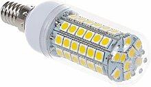 SODIAL(R) 10x E14 8W 69 LED 5050 SMD Lampe