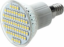 SODIAL(R) E14 SMD 60 LED Strahler Lampe Birne Licht Warmweiss 3W
