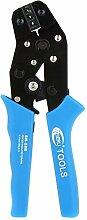 SODIAL (R) Hohe Qualitaet SN-28B Durable Professionelle Crimppresse Zange Elektriker Werkzeuge Blau