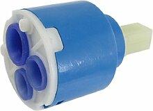 SODIAL (R) Wasserhahn Keramik Kartusche Ventil - Blau