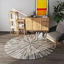 SODKK 90cm Rund Teppich Wohnzimmer* Kinderteppiche