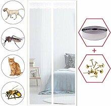SODKK Magnet Fliegengitter Tür, Insektenschutz