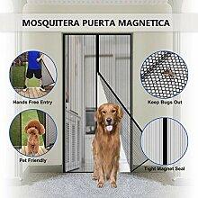 SODKK Magnet Fliegengitter Tür, Magnet