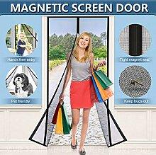 SODKK Magnet Fliegengitter Tür, Magnetischer