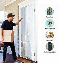 SODKK Magnet Insektenschutz Tür 110x185cm,