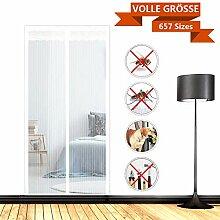 SODKK Magnetvorhang 140x250cm Insektenschutz Tür