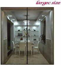 SODKK Magnetvorhang 180x245cm, Insektenschutz Tür