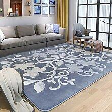 SODKK Runder Teppich Teppich, 50x100cm, Gemütlich