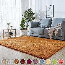 SODKK Teppich Design Gelb 100 x 160 cm Klein