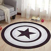 SODKK Teppich für Fußbodenheizung geeignet 210cm