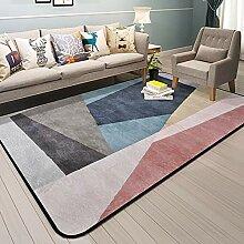 SODKK Teppich Teppich Langflor, 130x160cm,