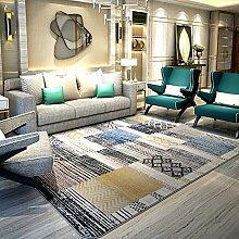 SODKK Teppich Wohnzimmer Teppich Langflor,