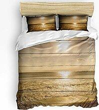Soefipok 3-teilige Bettbezug-Sets für Jungen und