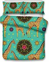 Soefipok 3D-Bettwäscheset 'Giraffe',