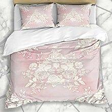 Soefipok Bettbezug-Sets Blossom Pink Französisch