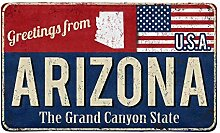 Soefipok Vintage Grüße aus Arizona, dem Staat