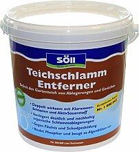 Söll 13575 TeichschlammEntferner - Gegen organischen Schlamm, trübes Wasser und unangenehme Gerüche im Gartenteich - 10 kg