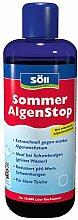 Söll 18765 Algenbekämpfung SommerAlgenStop, gegen hartnäckige Algen im Gartenteich - Algenmittel gegen Fadenalgen, 1 x 1 L, ro