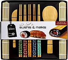 Soeos Sushi-Set für Anfänger, Bambus-Sushi-Set,