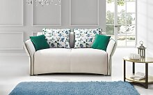 Sofa 2-Sitzer mit Schlaffunktion ROSALIE