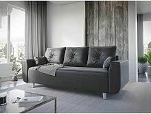 Sofa 3-Sitzer PROVO Schlaffunktion in diversen