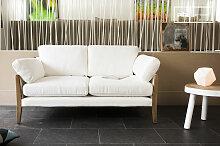 Sofa Ariston Weiß skandinavisches Design