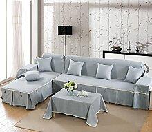 Sofa Baumwollbezug/Sofa-kissen/Vier Jahreszeiten Schlüpfen Sofa Stoff Servietten-E 170x260cm(67x102inch)