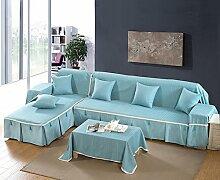 Sofa Baumwollbezug/Sofa-kissen/Vier Jahreszeiten Schlüpfen Sofa Stoff Servietten-I 210x260cm(83x102inch)