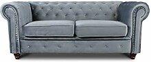 Sofa Chesterfield Asti 2-Sitzer, Couchgarnitur