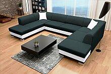 Sofa Couchgarnitur Couch Sofagarnitur DARCO als U