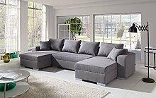 Sofa Couchgarnitur Couch Sofagarnitur Diego 3 U