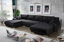 Sofa Couchgarnitur Couch Sofagarnitur Leon 3 U