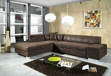 Sofa Couchgarnitur Couch Sofagarnitur OSCAR mit