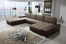 Sofa Couchgarnitur Couch Sofagarnitur Verona 8 U
