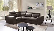 Sofa Couchgarnitur Couch Sofagarnitur WIZZAR als L