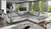 Sofa Couchgarnitur GALAXY C Polstergarnitur Couch
