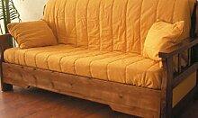 Sofa Country bereit Bett mit Schaft aus Kiefer Massivholz
