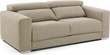 Sofa Crissman Ebern Designs Polsterung: Beige