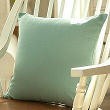 Sofa Cushion Cover,Pillowcase Pillow Cushion-B 55x55cm(22x22inch)VersionA