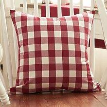 Sofa Cushion Cushion Cover,Pillowcase Pillow,Waist Pillow-B 55x55cm(22x22inch)VersionA