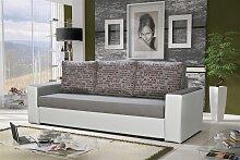 Sofa Designersofa LEEDS 3-Sitzer mit