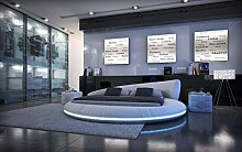Sofa Dreams Design Rundbett Mezzo mit LED