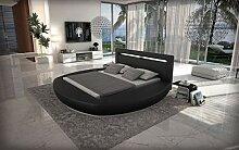 Sofa Dreams Designer Rundbett Riva Bettgestellmit