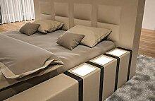 Sofa Dreams Designerbett Asti mit Beleuchtung in