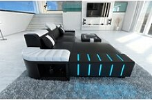 Sofa Dreams Ecksofa Bellagio, L Form Ledersofa mit