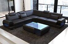 Sofa Dreams Ecksofa Ragusa, L Form Ledersofa mit